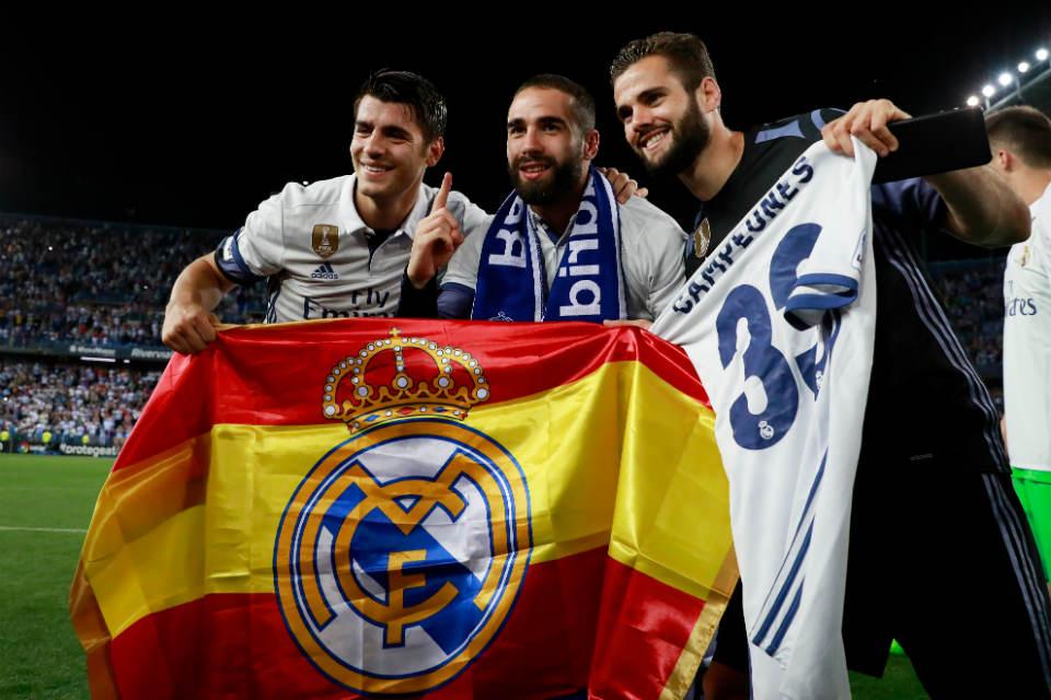 Madrid Resmi Angkat Trofi La Liga Musim Ini
