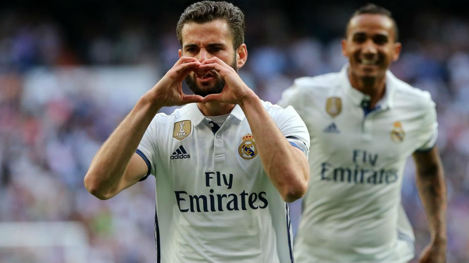Nacho Fernandez sukses mencetak gol lewat tendangan bebas kontroversial