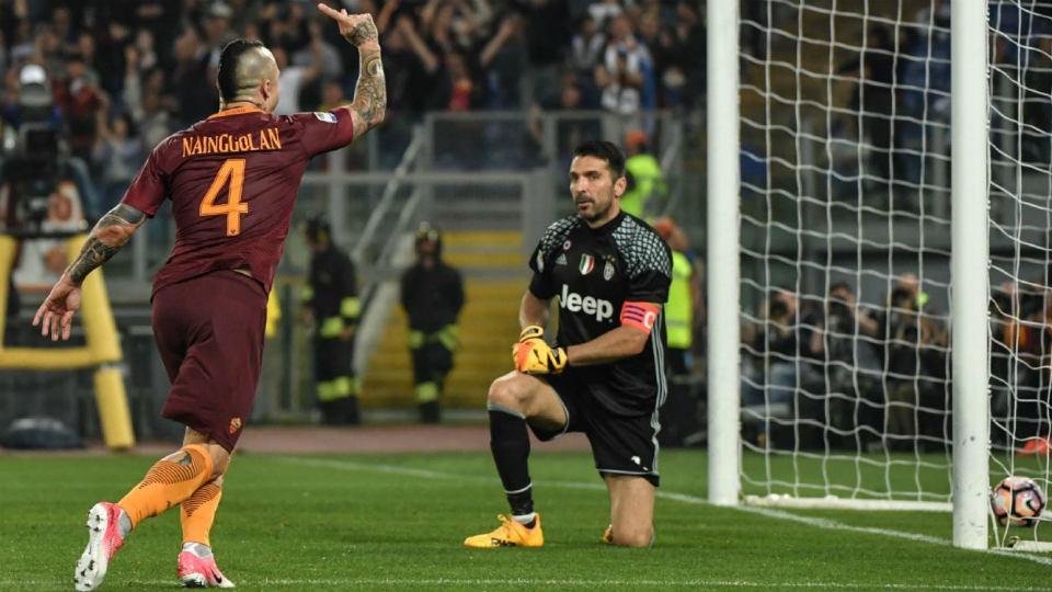 Roma Bantai Juventus di Olimpico